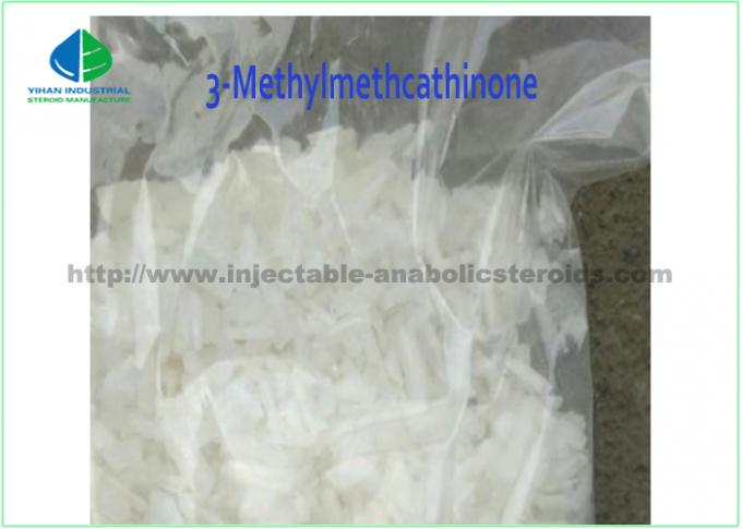 3- Mephedrone 3MMC 3-Methylmethcathinone CAS 1246816-62-5の白い水晶未加工粉